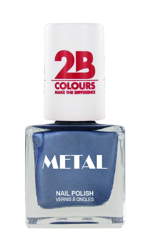2B Cosmetics Nail polish Metal 649 Ice Blue