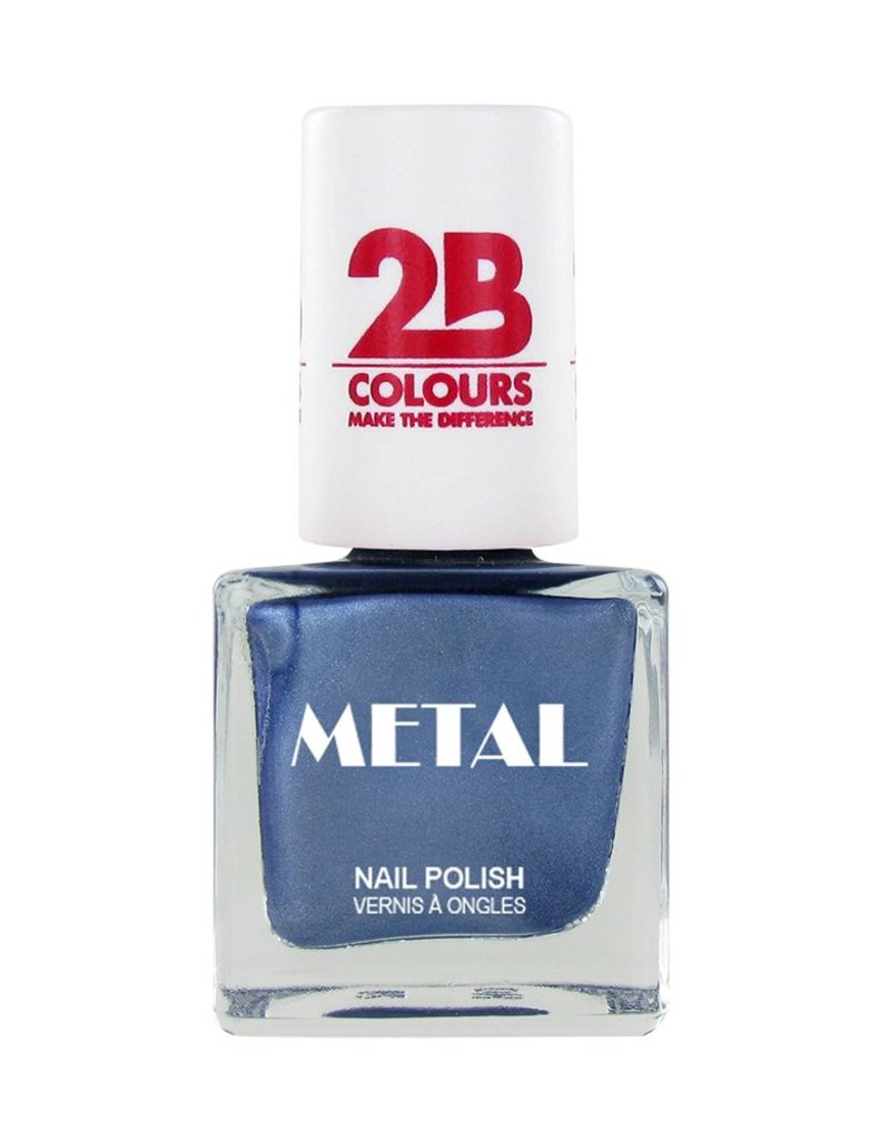 2B Cosmetics Nail polish Metal 649 Ice Blue
