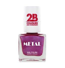 2B Cosmetics Vernis à ongles Metal 650 Pink