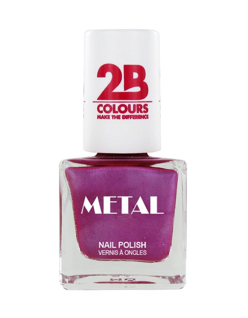 2B Cosmetics Nail polish Metal 650 Pink