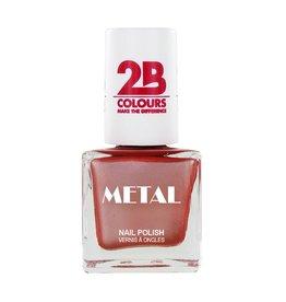 2B Cosmetics Vernis à ongles Metal 651 Vieux Rose