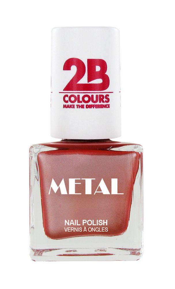 2B Cosmetics Nagellak Metal 651 Vieux Rose