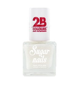 2B Cosmetics Nagellak Sugar 661 Snow White