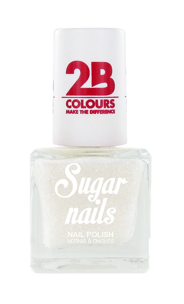 2B Cosmetics Nail polish Sugar 661 Snow White