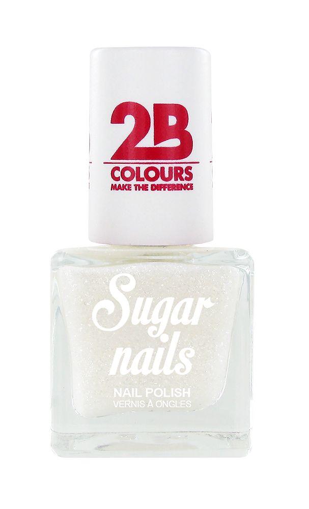 2B Cosmetics Vernis à ongles Sugar 661 Snow White