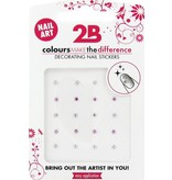 2B Cosmetics Nail art sticker Strass Circle