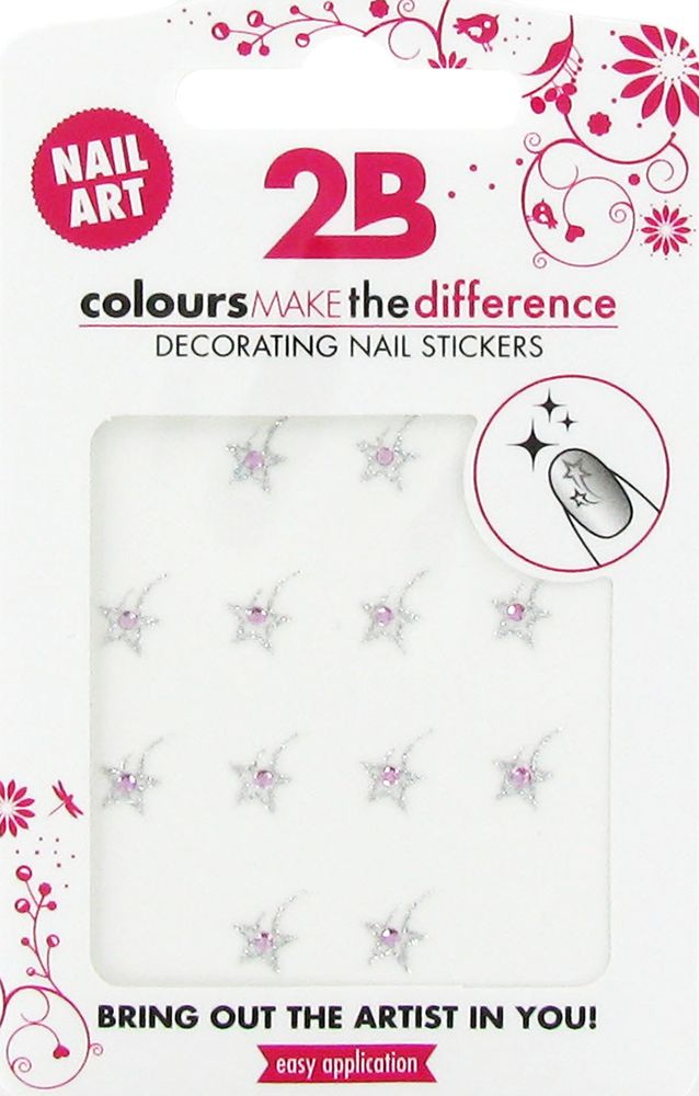 2B Cosmetics Nail art sticker Star