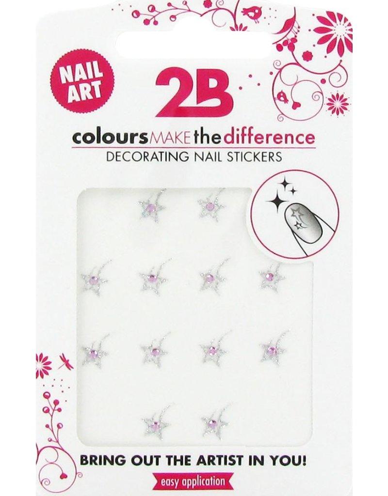 2B Cosmetics Nail art sticker Star