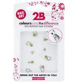 2B Cosmetics Nail art sticker Gem Stone 01
