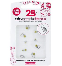 2B Cosmetics Nail art sticker Gem Stone 01