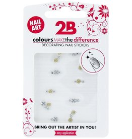 2B Cosmetics Nail art sticker Gem Stone 02