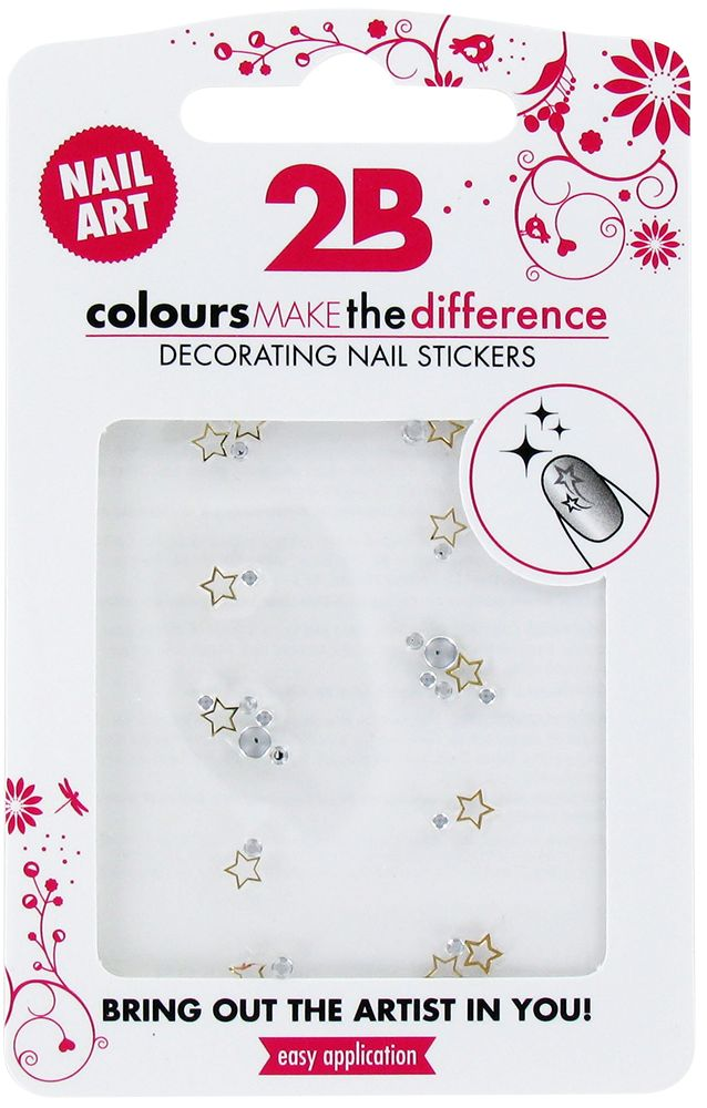 2B Cosmetics Nail art sticker Gem Stone 03