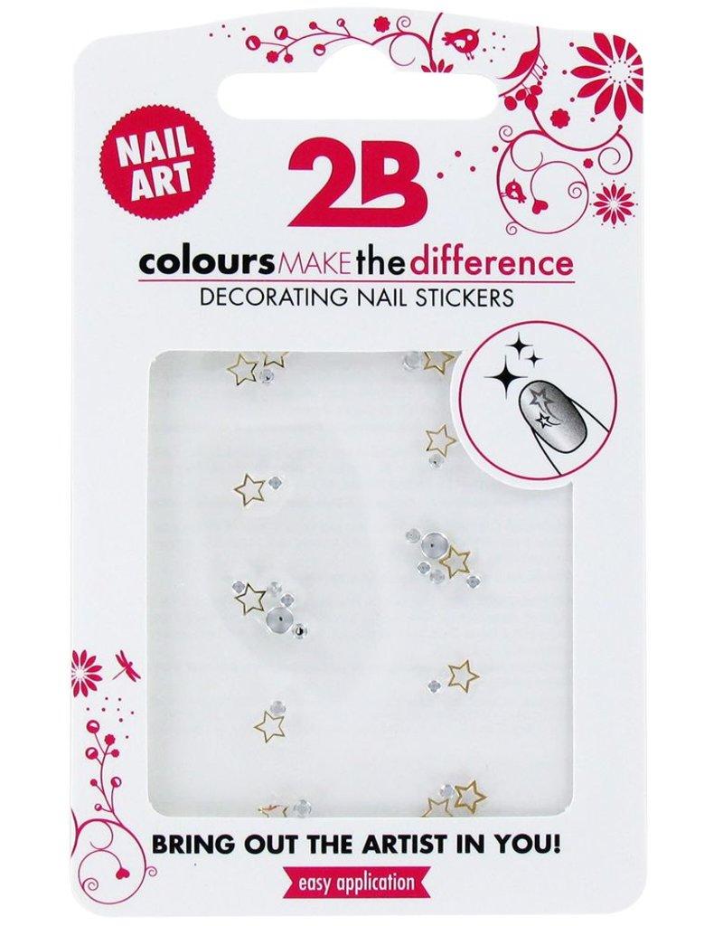 2B Cosmetics Nail art sticker Gem Stone 03