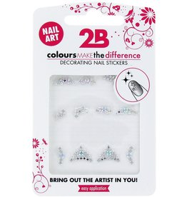 2B Cosmetics Nail art sticker Gem Stone Special 04