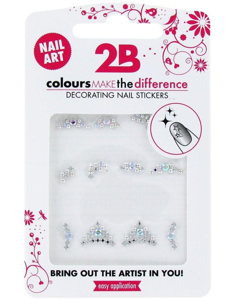 2B Cosmetics Nail art sticker Gem Stone Special 04