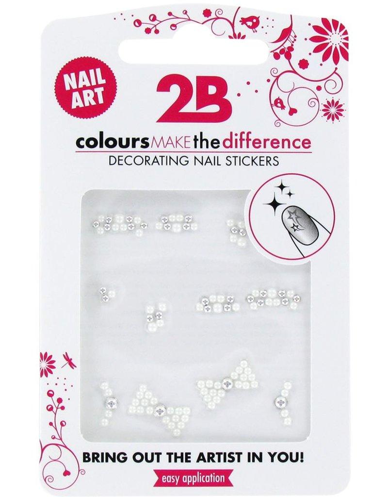 2B Cosmetics Nail art sticker Gem Stone Special 05