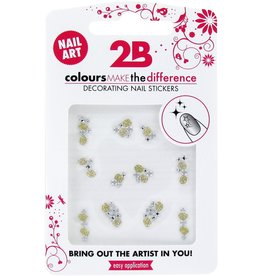 2B Cosmetics Nail art sticker Gem Stone Special 06