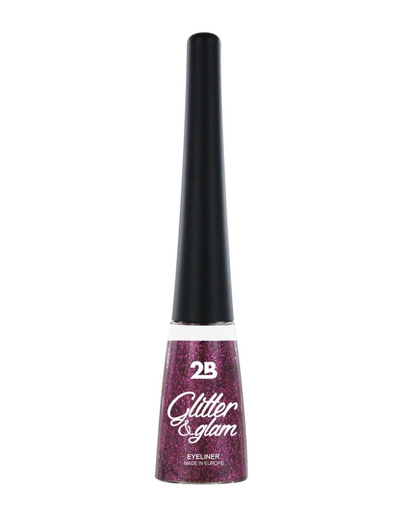 2B Cosmetics Eyeliner glitter 04 fuchsia