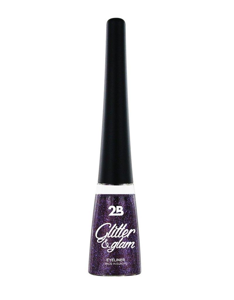 2B Cosmetics Eyeliner glitter 05 violet