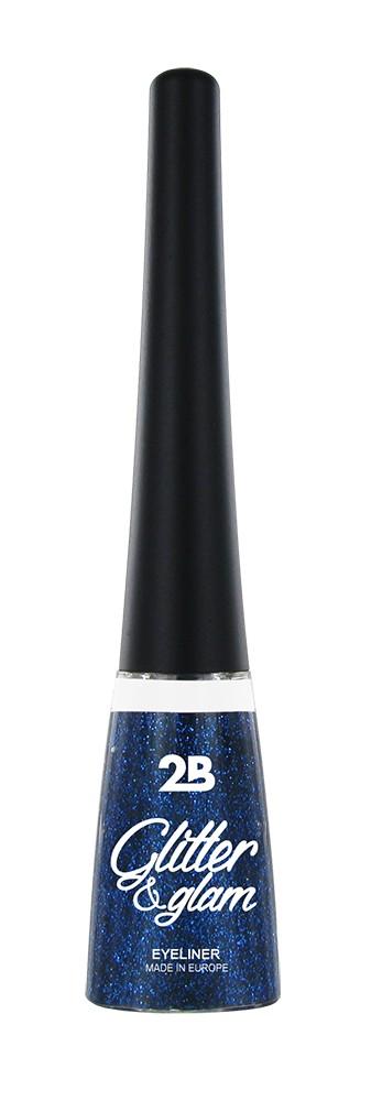2B Cosmetics Eyeliner glitter 06 blue azure