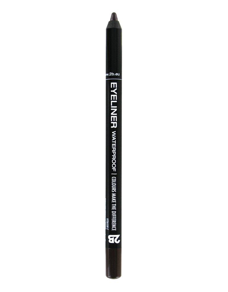 2B Cosmetics Eyeliner waterproof - 08 bruin