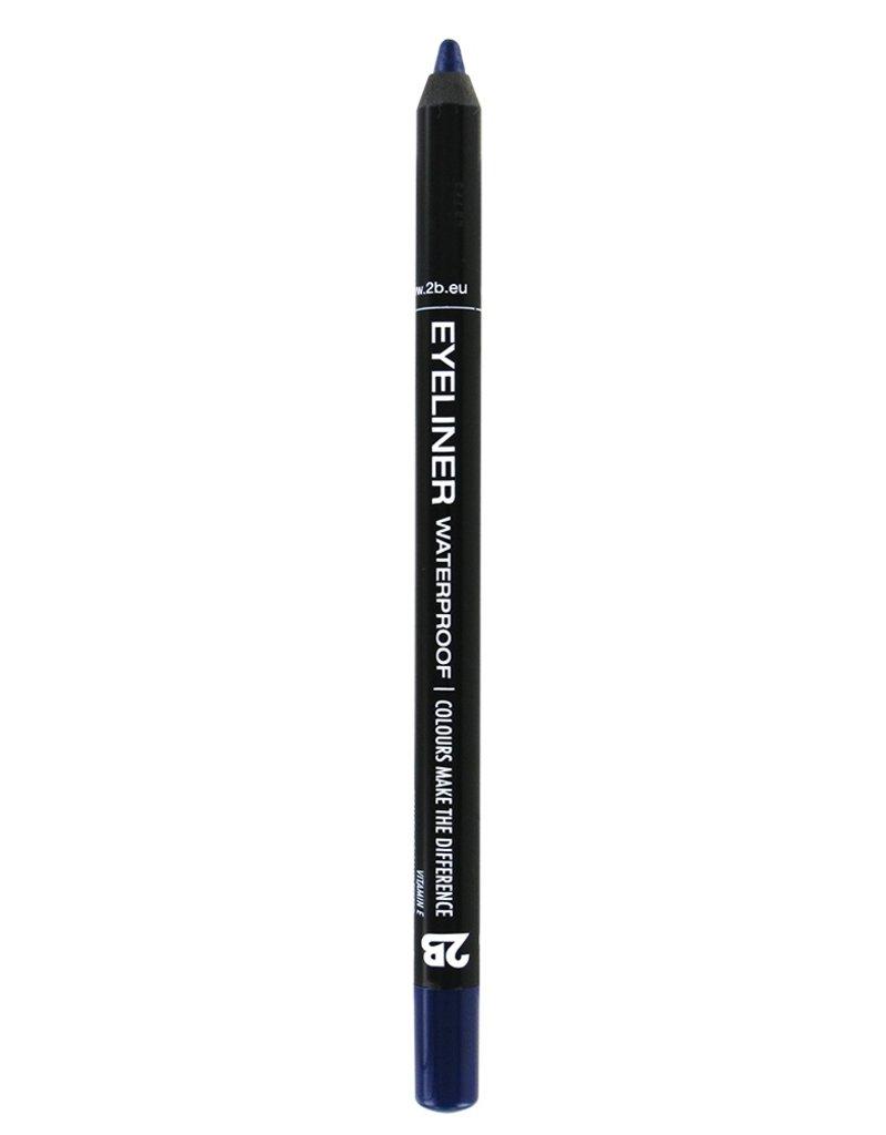 2B Cosmetics Eyeliner waterproof - 10 dark blue
