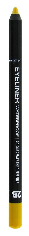 2B Cosmetics Eyeliner waterproof - 01 ocher