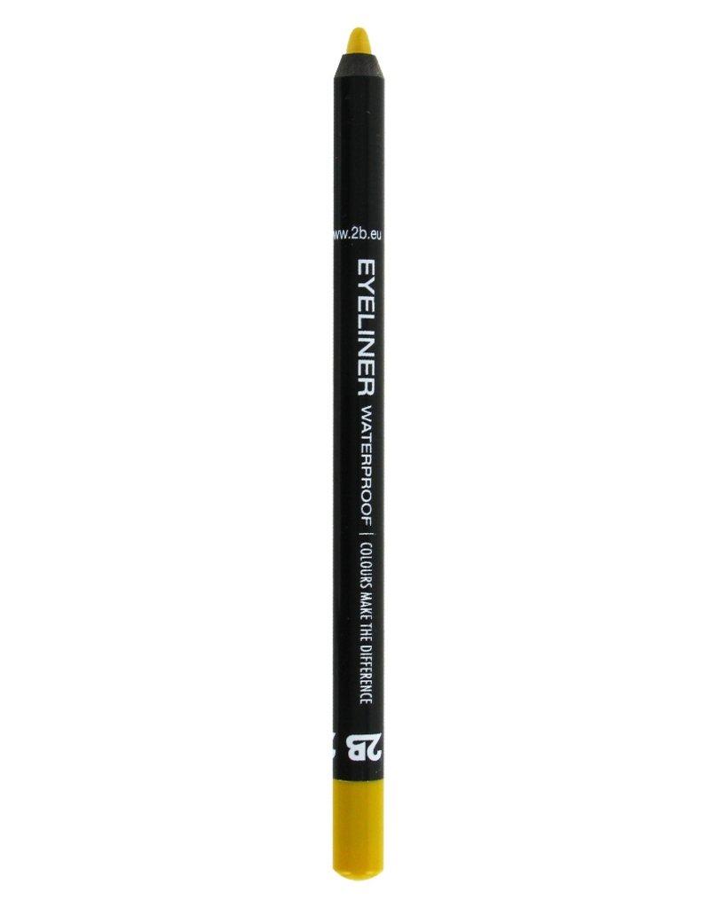 2B Cosmetics Eyeliner waterproof - 01 oker