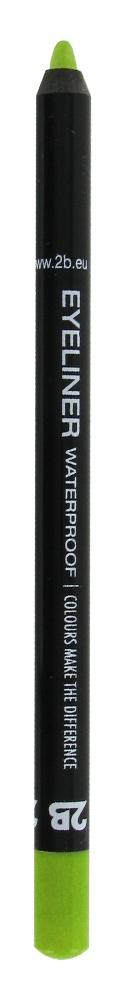 2B Cosmetics Eyeliner waterproof - 05 groen