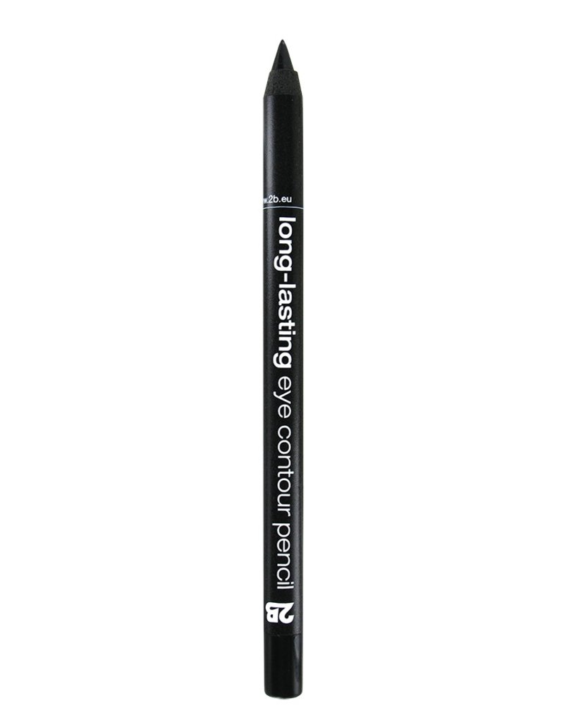 2B Cosmetics long-lasting eye contour liner 01 black