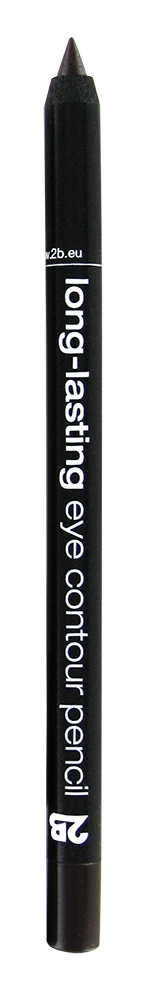 2B Cosmetics long-lasting eye contour liner 02 brown