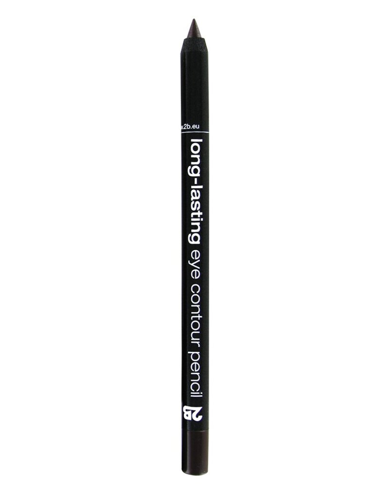 2B Cosmetics long-lasting eye contour liner 02 brown