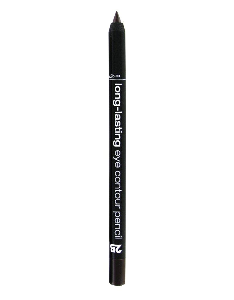 2B Cosmetics long-lasting eye contour liner 02 brun