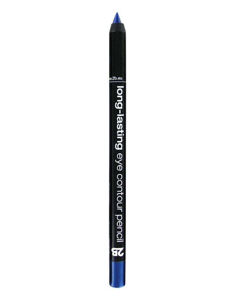 2B Cosmetics long-lasting eye contour liner 03 bleu chine