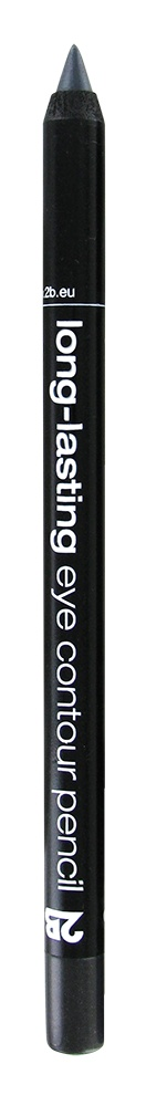 2B Cosmetics long-lasting eye contour liner 04 anthracite