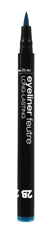 2B Cosmetics Eyeliner feutre 03 turquoise
