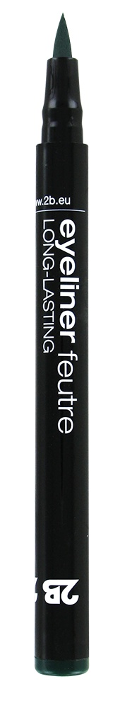 2B Cosmetics Eyeliner feutre 04 groen