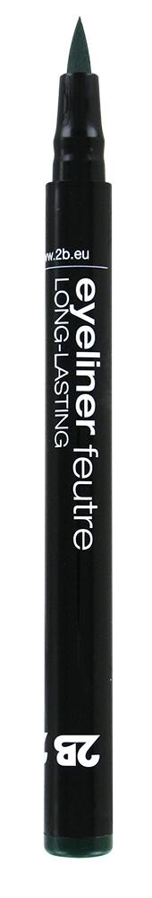 2B Cosmetics Eyeliner feutre 04 vert