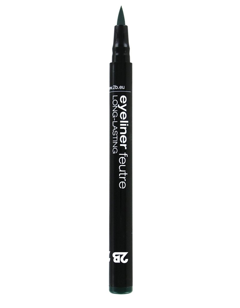 2B Cosmetics Eyeliner feutre 04 green