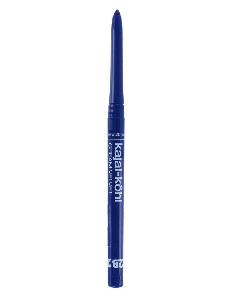 2B Cosmetics Kajal Cream Velvet - 04 blauw