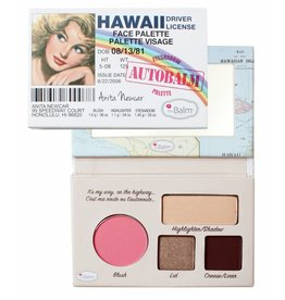 The Balm Palette Visage Autobalm Hawaii