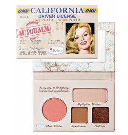 The Balm Palette Visage Autobalm California