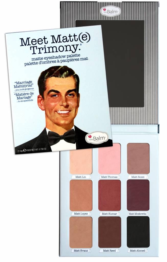 The Balm Meet Matt(e) Trimony eyeshadow palette