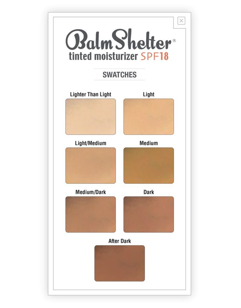 The Balm BalmShelter Tinted Moisturizer - After Dark