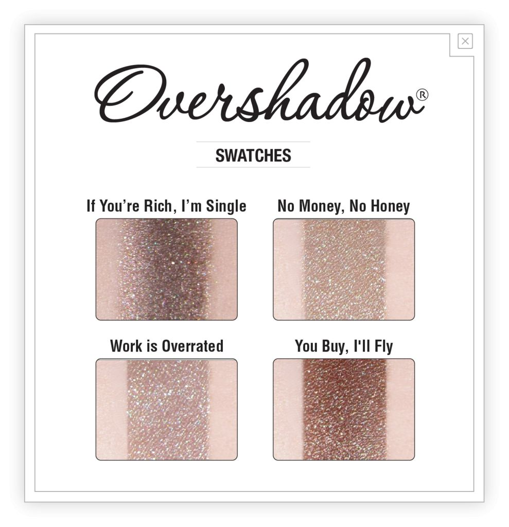 The Balm Overshadow - You Buy I'll Fly