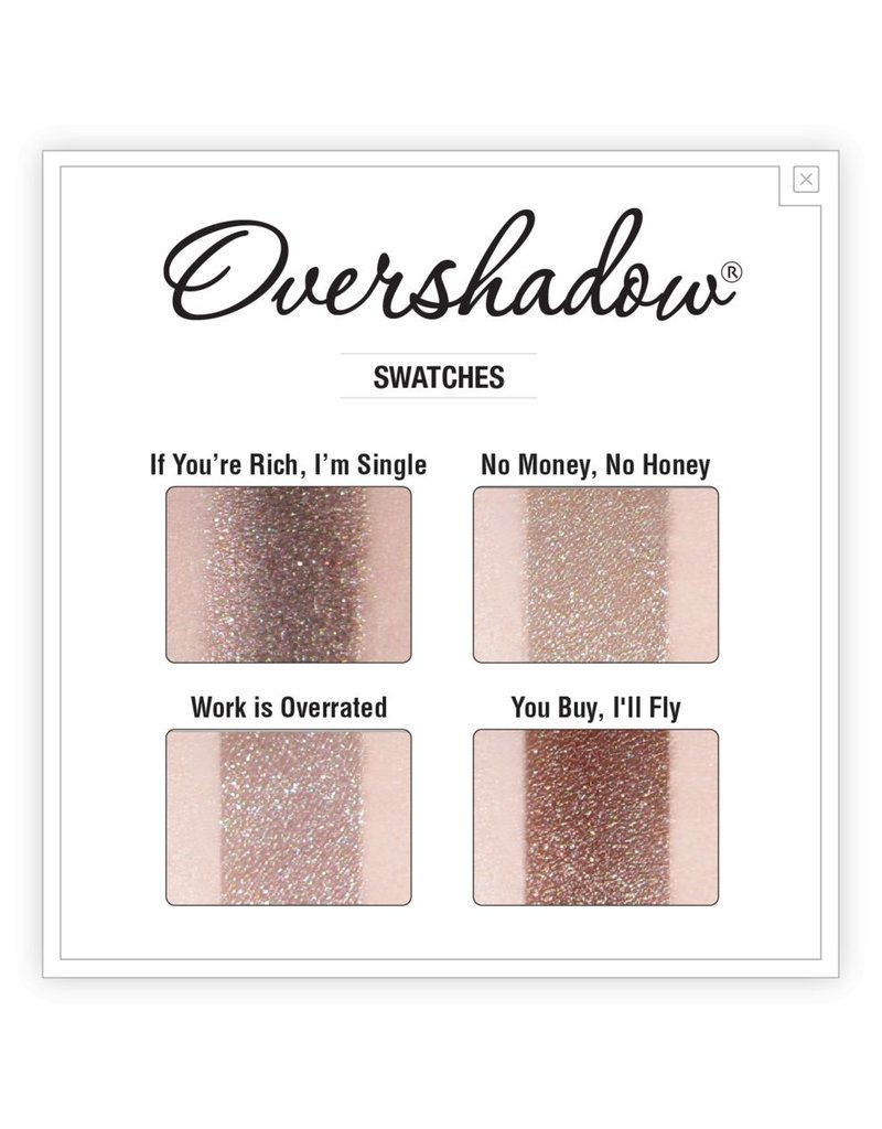 The Balm Overshadow - If You're Rich I'm Single