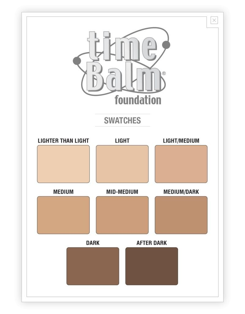 The Balm timeBalm Foundation - After Dark
