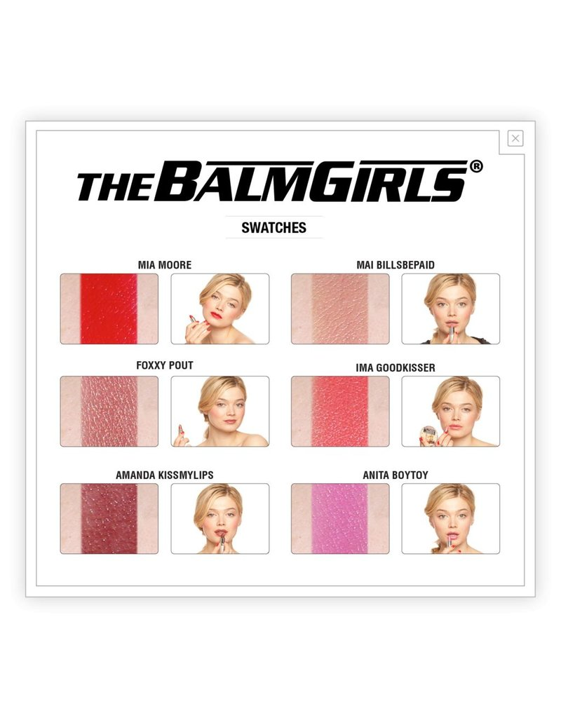 The Balm theBalm Girls Lipstick - Amanda Kissmylips