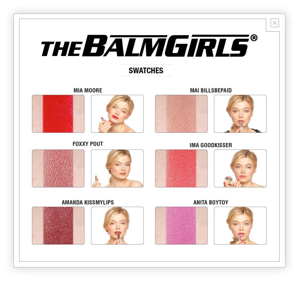 The Balm theBalm Girls Rouge à Lèvres - Mai Billsbepaid