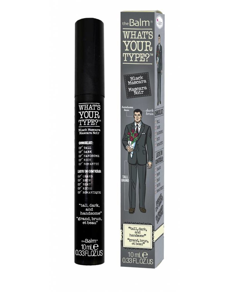 "The Balm Whats Your Type Mascara ""Tall, Dark & Handsome"""